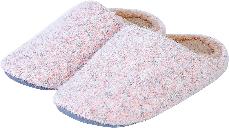 Popular product DuLu Women's Cozy Memory Foam Wool-Like Plush Slippers Max 82% OFF Fuzzy Fle