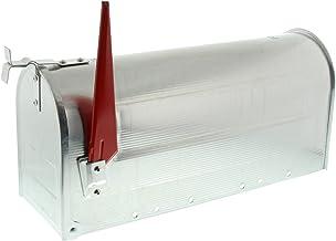 Burg-Wächter U.S. Mailbox Met Draaibare Vlag, Aluminium, 892 Alu, Aluminium