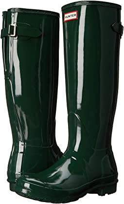 Hunter Original Back Adjustable Gloss Rain Boots