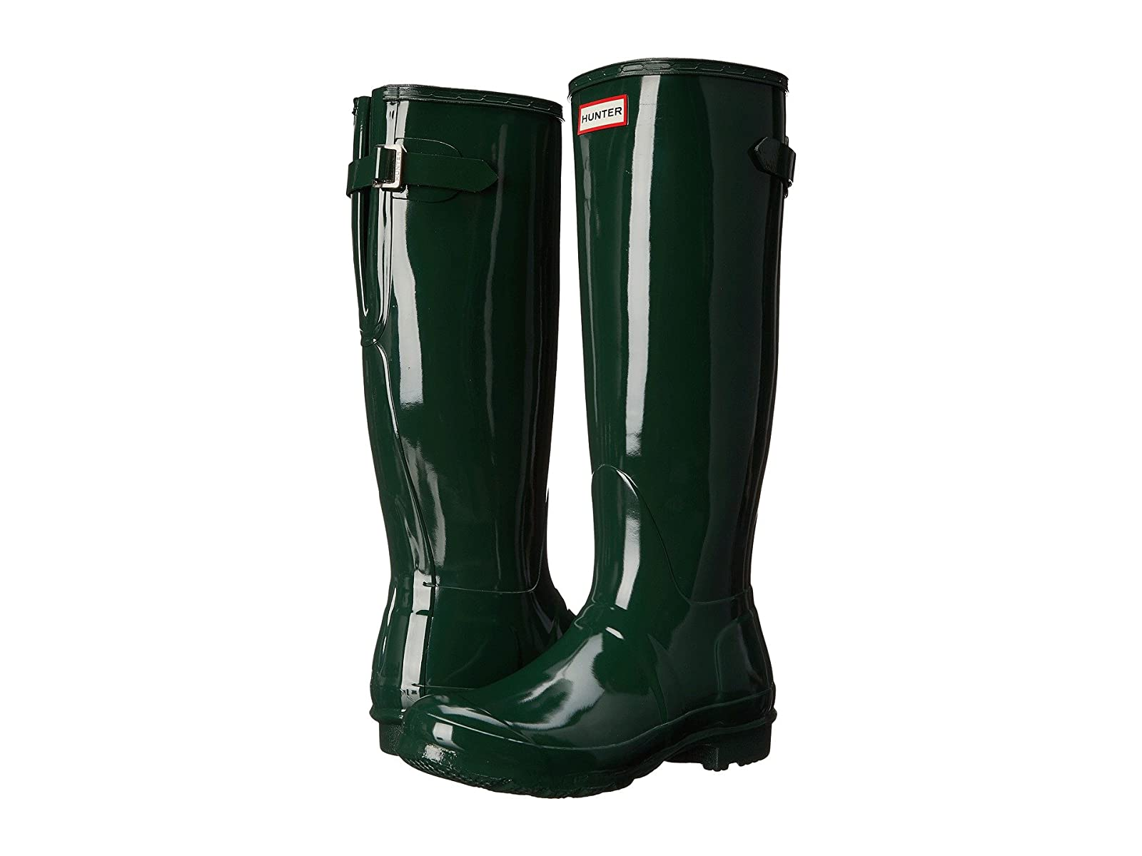 Hunter Original Back Adjustable Gloss Rain BootsAffordable and distinctive shoes