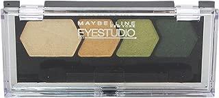 Maybelline Studio Color Plush Quad Eye Shadow for Women, # 135 Enticing Emerald, 0.09 Ounce