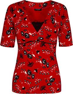 Vive Maria Red Flower - Maglietta da donna