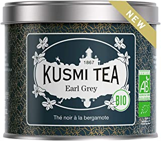Kusmi Tea - Earl Grey BIO - 100 g Metall Teedose etwa 40 Tassen