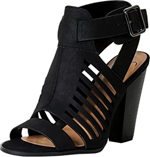 233cab0fd Amazon.com: Soda - Heeled Sandals / Sandals: Clothing, Shoes & Jewelry