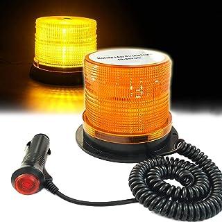 Blitzer 120 LED Warnlicht Warnleuchte Blinklicht Große KFZ Rundumleuchte