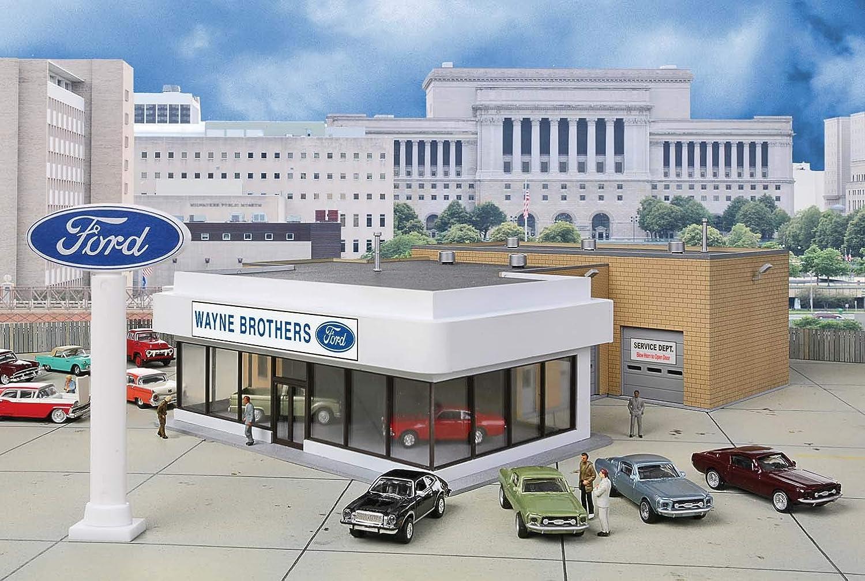 marca en liquidación de venta Walthers Cornerstone 933-3483 - Concesionario Ford Wayne Bros, Edificio Edificio Edificio  la mejor oferta de tienda online