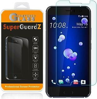[عبوتان] واقي شاشة HTC U11 / U 11 [زجاج مقسى]، SuperGuardZ، 9H، 0.3 مم، 2.5D حافة دائرية، مضادة للخدش، مضادة للفقاعات [است...