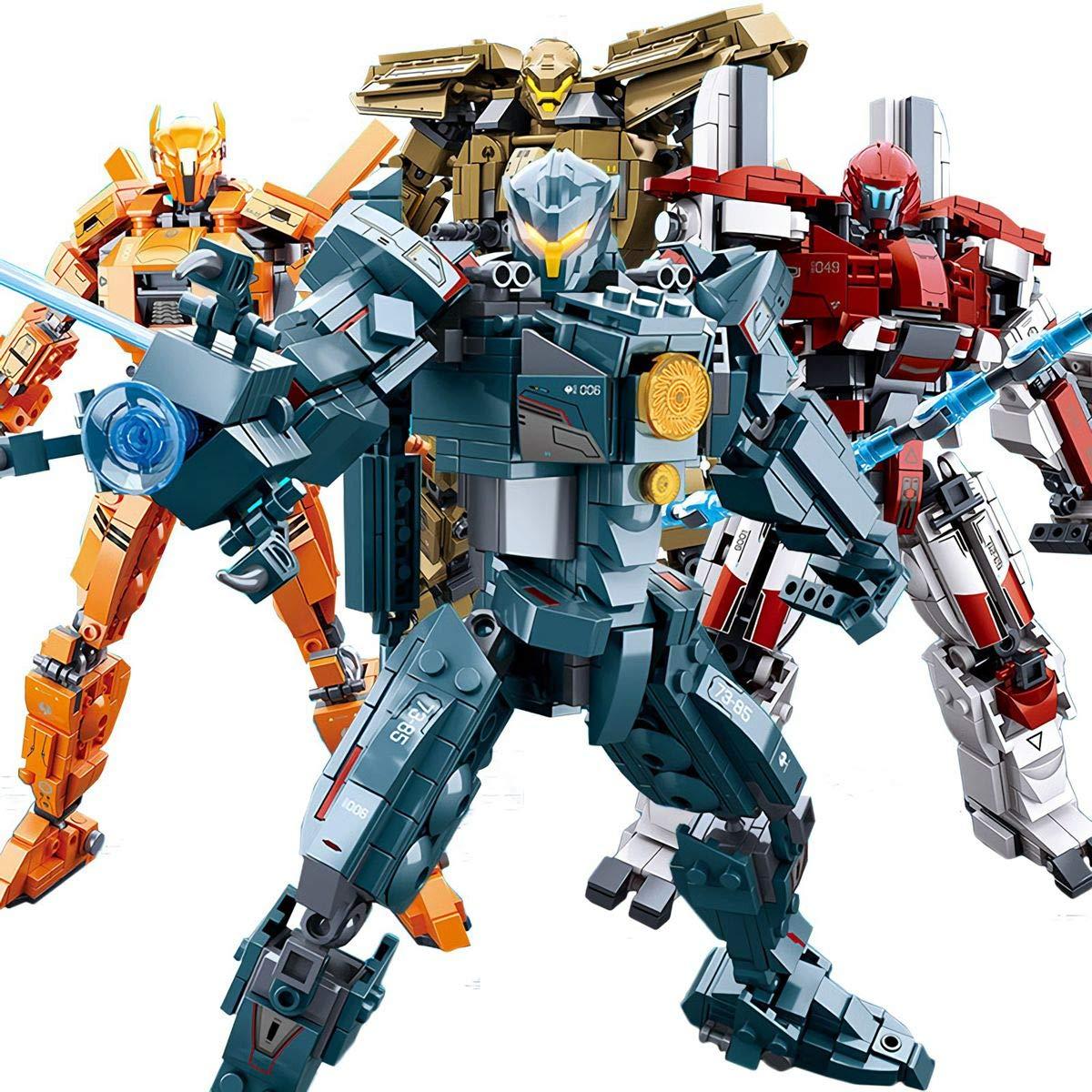 Pacific Rim Uprising Building Blocks Toy Set Guardian Bravo No Original Box