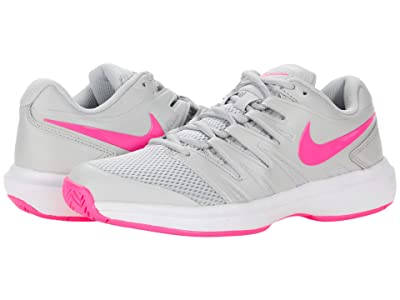 Nike Air Zoom Prestige (Grey Fog/Pink Blast/White) Women