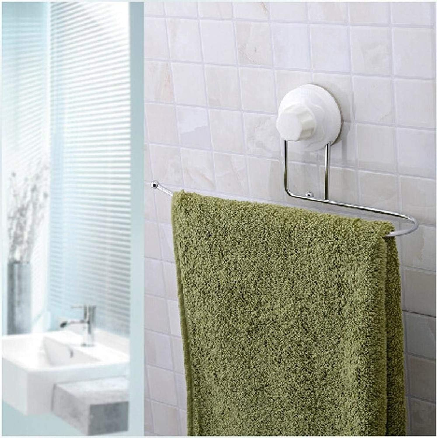 Stylish Design and Minimalist, Bathroom, Multifunctional Dry-Towels Screws, a Solid Dry-Towels Suction Cup