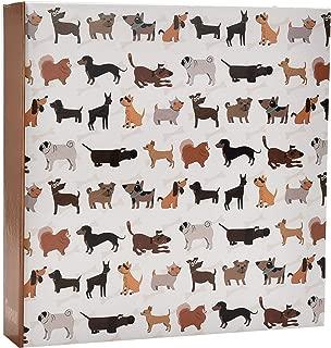Arpan 6x4'' Photo Album Slip In Case Bookbound Memo Album for 200 photos (Scotty Dogs)