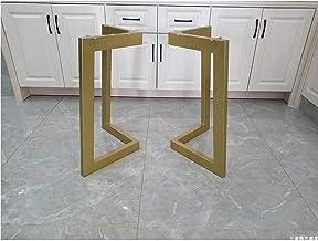 Set van 2 Heavy Duty Tafelpoten Eettafel Poten 45cm/72cm Hoogte 50CM Breedte, Bureaupoten Tafelpoten Voeten, Industriële D...