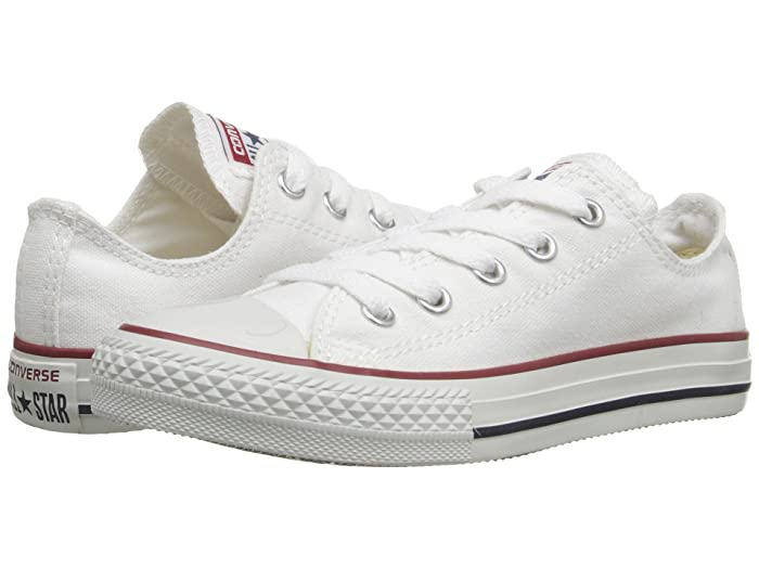 Converse Kids  Chuck Taylor All Star Core Ox (Little Kid) (Optical White) Kids Shoes
