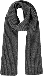 Unisex Knitted Scarf Cashmere Feel Warm Wrap Shawl Thickened Winter Infinity Scarf for Men and Women