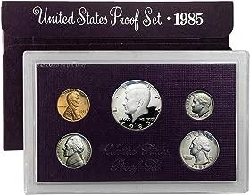 1985 S Proof Set 5 Coin Set OGP Original Government Proof