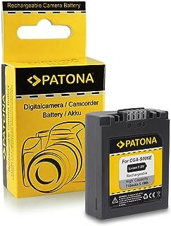 PATONA Bateria CGA-S006 Compatible con Panasonic Lumix DMC-FZ7 DMC-FZ8 DMC-FZ30 DMC-FZ50