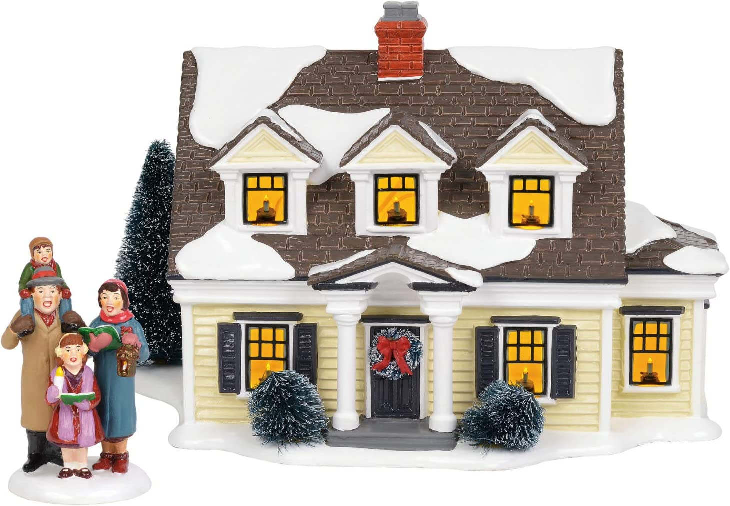 Department56 New life Original Snow New Shipping Free Shipping Village Christmas Build Lit Welcoming