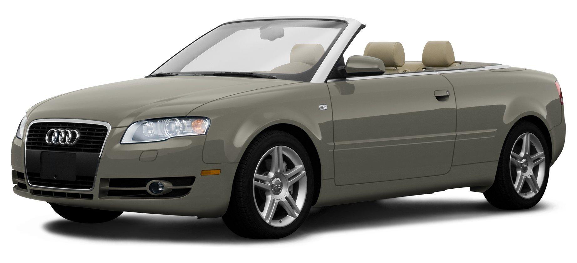 2008 Audi A4 Quattro 2.0T, 2-Door Cabriolet Automatic Transmission quattro ...