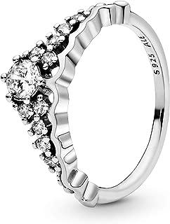 Fairytale Tiara Ring, Clear CZ 196226CZ