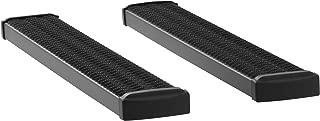 LUVERNE 415054-400711 Grip Step Black Aluminum 54-Inch Truck Running Boards for Select Chevrolet Silverado, GMC Sierra 1500, 2500 HD, 3500 HD