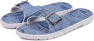 WMK Women's Slippers Indoor House or Outdoor Latest Fashion Blue Flipflop Slipper for Women