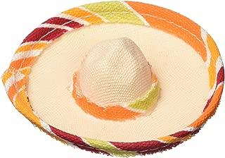 amscan Cinco De Mayo Mini Plastic Sombrero Hair Clip | Party Accessory | 15 Ct.