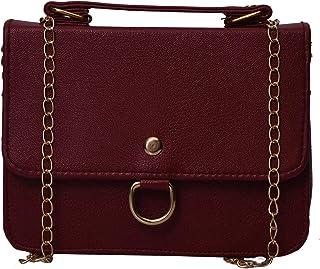 Aisna Ashley Sling bag for Women(ASNB-054)(Maroon)