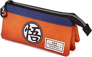 Karactermania Dragon Ball Symbol-Dreifach HS Federmäppchen Estuches 24 Centimeters Multicolor (Multicolour)
