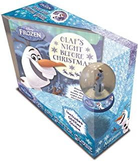 Olaf Book & Snowglobe Disney