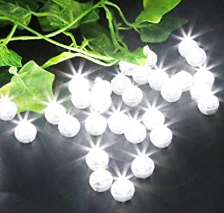 100 Pack LED Standby Balloon Lights White for Weddings,Christmas Decor, Party Decorations,Balloons,Paper Lanterns, Birthdays