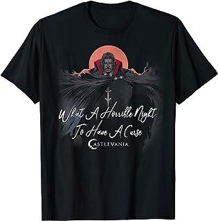 Netflix Castlevania Dracula A Horrible Night To Have A Curse T-Shirt