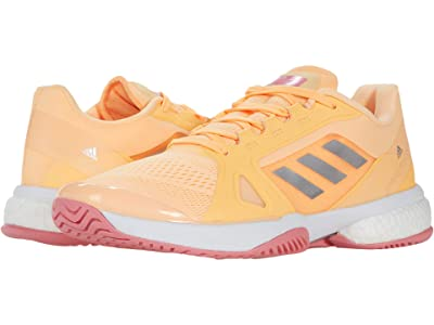 adidas aSMC Barricade Boost (Acid Orange/Silver Metallic/Hazy Rose) Women