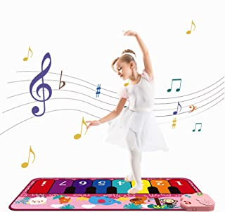 OKREVIEW Piano Mat for Kids Music Mat for Toddlers Early Edu