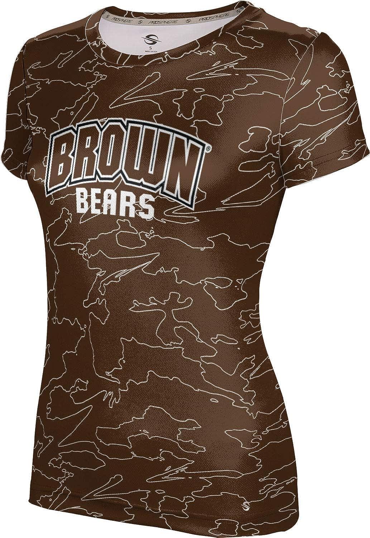 ProSphere Brown University Girls' Performance T-Shirt (Topography)