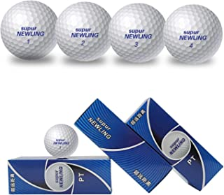 IYUT supurNEWLING High Performance Golf Balls 2-Piece 12 Premium Tour Soft Golf Balls Ultimate Straight Long Distance Balls 1 Dozen PT