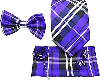 dark purple necktie