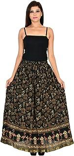 Generic Women'S Black Skirts(Jiskrt-103_Black_42W X 40L)