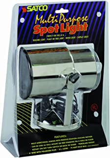 Satco Products SF77/397 Multi-Purpose Portable Spot Light, Chrome