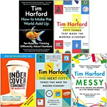 Tim Harford Collection 5 Books Set (How to Make the World Add Up, Fifty Things that Made the Modern Economy, The Undercove...