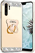 Robinsoni Hoesje compatibel met Huawei P30 Pro Phone Cover Flexibel Case Sparkle Siliconen Case Clear Case Diamond Bling C...