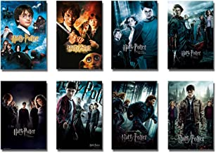 Harry Potter 1-8 - Movie Poster/Print Set (8 Individual Full Size Movie Posters - Version 3) (Size: 24