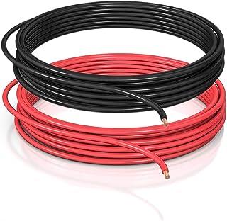 DCSk 1,5mm² - 10m - automobiel kabel FLRY B asymmetrisch - 1,50 mm² - automobiel kabel streng - set kleur rood/zwart - 10 ...
