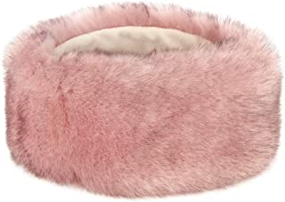 Futrzane Winter Faux Fur Headband for Women and Girls
