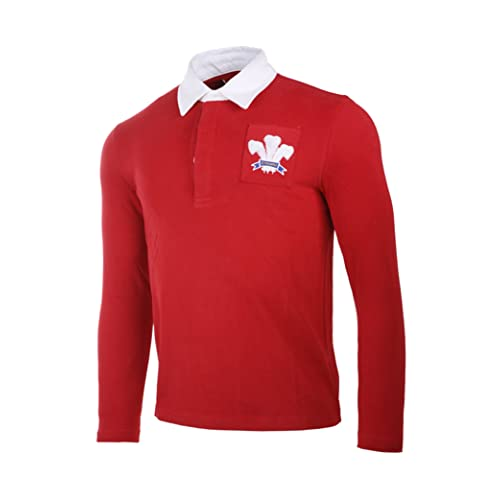 cde165d7 Olorun Authentic Rugby Classic Vintage Wales Shirt (S-4XL)