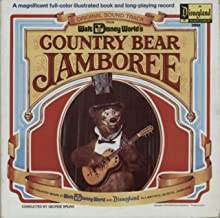 Country Bear Jamboree with Illustrated Book