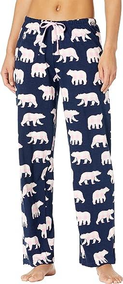 Mama Bear Jersey Pajama Pants