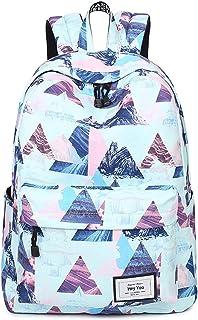 Girls School Backpack Waterproof Travel Bookbag School Bag Backpack for Teen Girls Women (Blue)