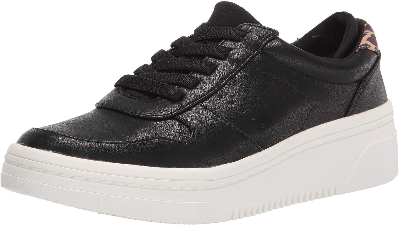Dr. Scholl's Shoes Women's Essential Sneaker, Black, 8