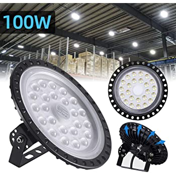 3rd Generation UFO 100W 110V High Bay Light Warehouse Gym Shed Canopy Fixture