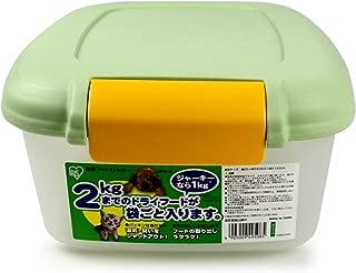 アイリスオーヤマ 密閉フードストッカー グリーン MFS-2